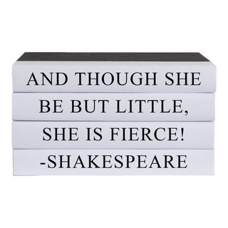 Little but Fierce Quote Book Stack - 4 Pieces For Sale