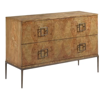 Woodbridge Squared Pulls Rectangular Larkin Chest of Drawers For Sale