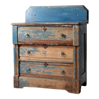 Antique Bachelor's Chest of Drawers For Sale