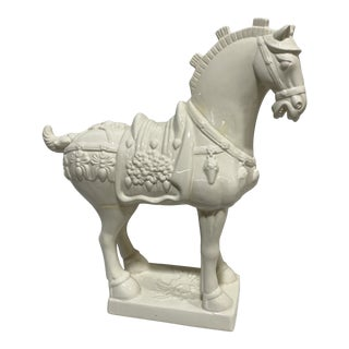 Large Vintage Ceramic Tang Dynasty Horse For Sale