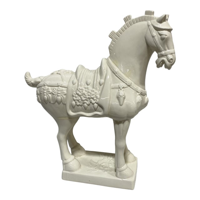 Large Vintage Ceramic Tang Dynasty Horse For Sale
