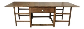 Image of Rustic Drop-Leaf and Pembroke Tables