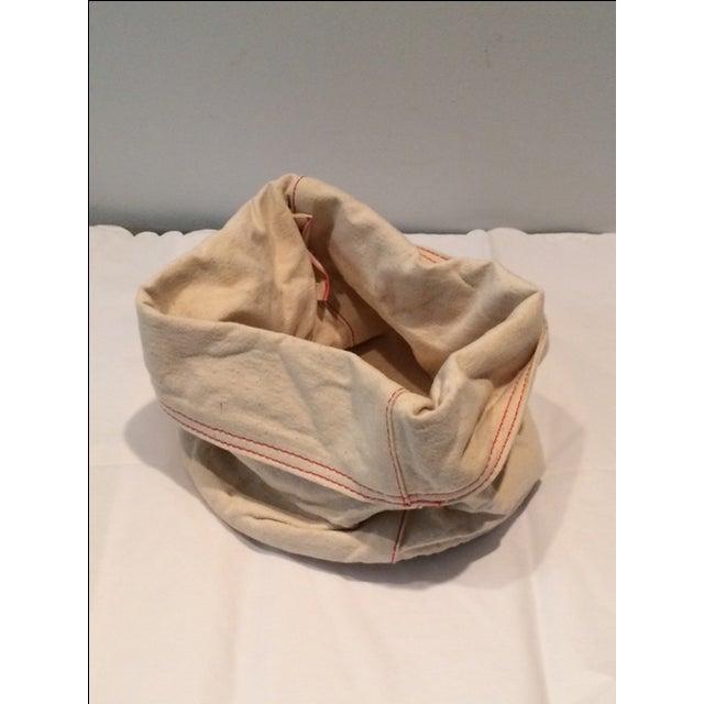 Cottage West Elm Canvas Bread Bag For Sale - Image 3 of 5