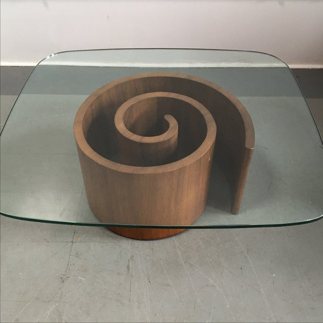 Kagan Snail Coffee Table - Image 4 of 7