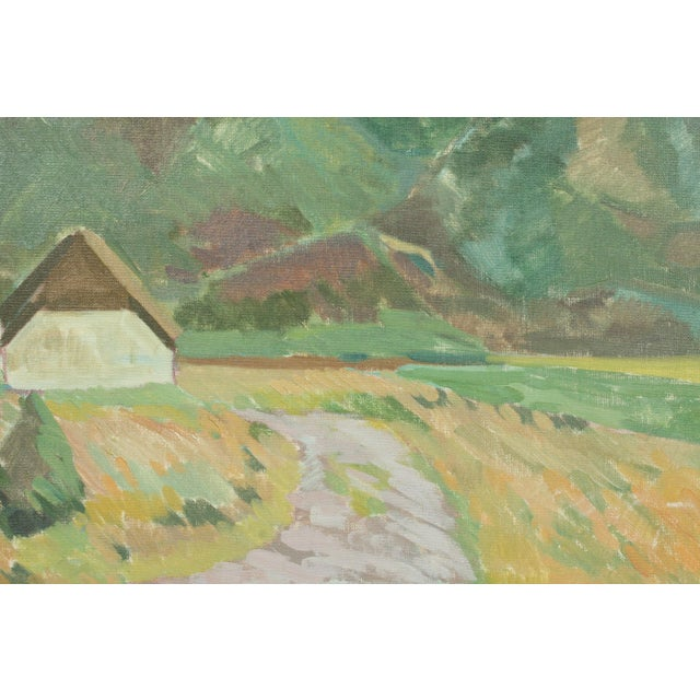 Village by Per Iversen For Sale - Image 4 of 6