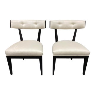 Michael Vanderbyl Bolier & Company Domicile Crescent Dining Chairs- a Pair For Sale