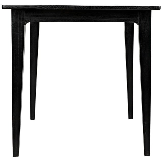 Charcoal Black Daphne Writing Desk For Sale In Los Angeles - Image 6 of 9