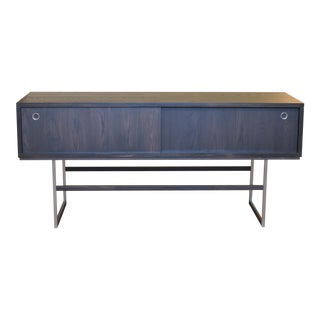 Contemporary American Mid Century Modern Style Solid Ash Credenza