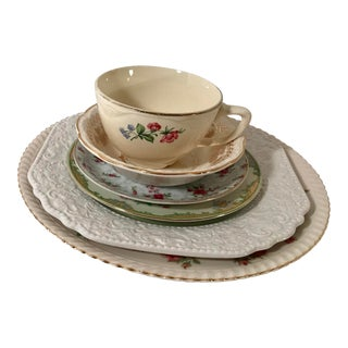 MisMatched China Place Setting - 6 Pieces