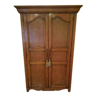 English Traditional Howard Miller Bar Cabinet For Sale