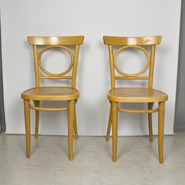 Radomsko Thonet Bentwood Cafe Chairs - Set of 4 For Sale In New York - Image 6 of 10