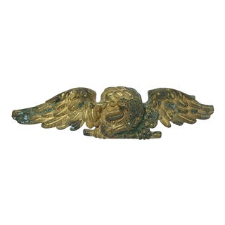 Antique Eagle Flag Pole Topper For Sale
