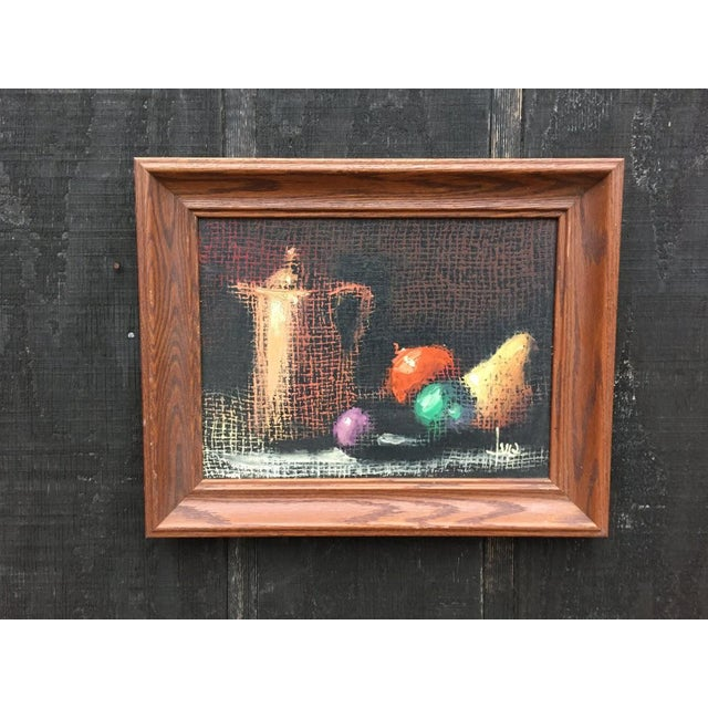 Italian Still Life Original Oil Painting For Sale - Image 10 of 10