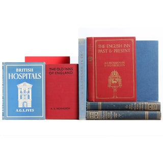British Architecture Books - Set of 8