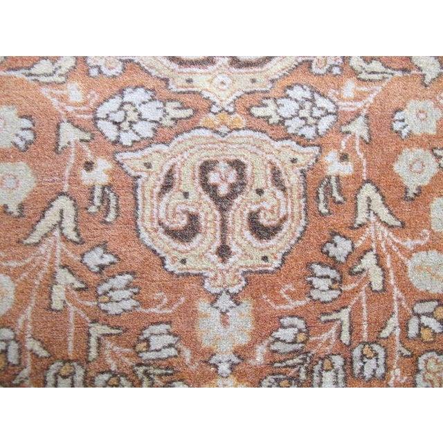 Islamic Tabriz Scatter Rug in Subtle Soft Colors For Sale - Image 3 of 4