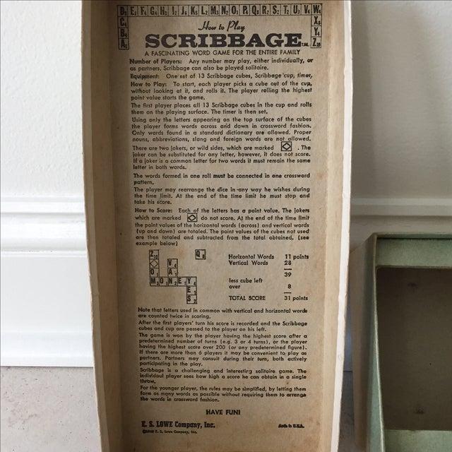 Paper 1963 Original Scribbage Word Game For Sale - Image 7 of 9