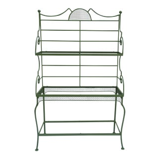Woodard MCM Bakers Rack For Sale