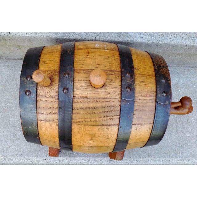 Lowenbrau Beer Wood Keg & Base - Image 11 of 11