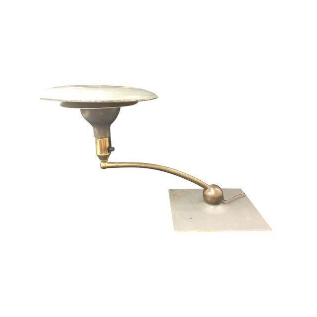 1940s Sight Light Corp. Modern Swivel Desk Lamp For Sale