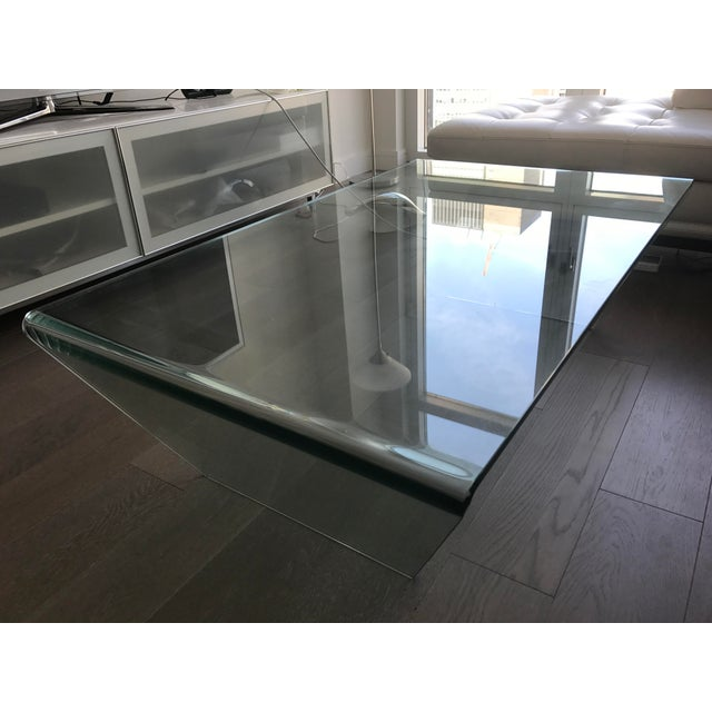 Bo Concept Glass Coffee Table | Chairish