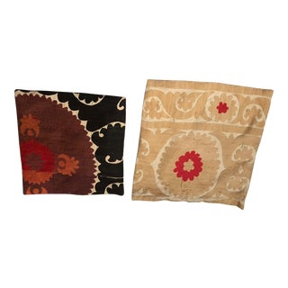 Jayson Home and Garden Suzani Pillow Covers - A Pair For Sale