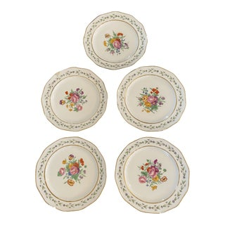Antique Early 19th Century Botanical Plates - Set of 6 For Sale