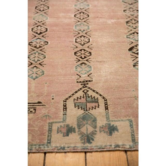 "Textile Vintage Distressed Belouch Rug - 3'8"" X 6'7"" For Sale - Image 7 of 12"