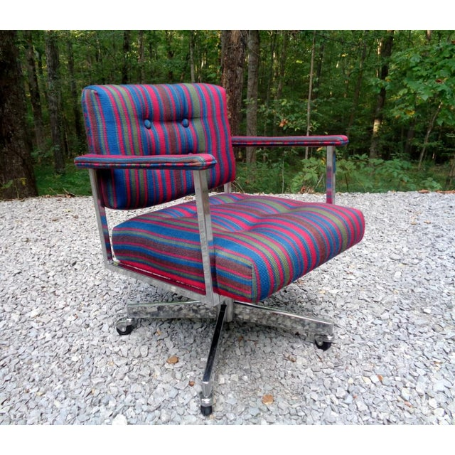 Mid Century Frank Doerner Faultless Office Chair for Cole Steel For Sale - Image 13 of 13