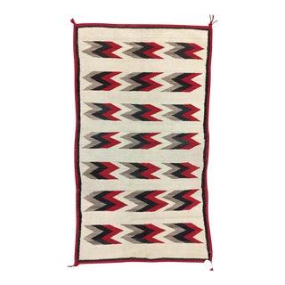 Circa 1920 Navajo Ganado Rug- 3′2″ × 5′4″