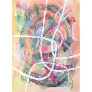Soft Curves Jessalin Beutler Original Painting For Sale