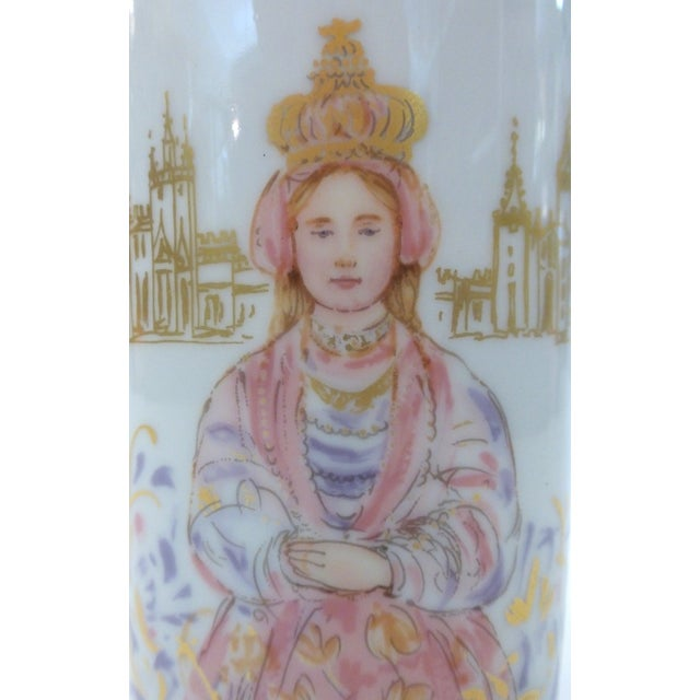 Chinoiserie Rosenthal Mid-Century Vase For Sale - Image 3 of 7