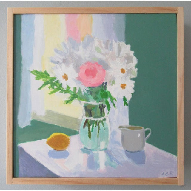 French Country Bouquet, Lemon and Creamer by Anne Carrozza Remick For Sale - Image 3 of 5