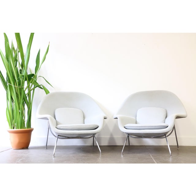 This is for a pair of authentic Knoll Womb Chairs designed by Eero Saarinen. Eero Saarinen designed the groundbreaking...