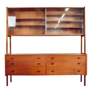 1960s Mid Century Modern Hans Wegner Teak Sideboard For Sale