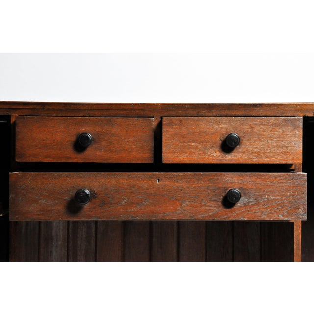 British Colonial Art Deco Sideboard For Sale - Image 9 of 11