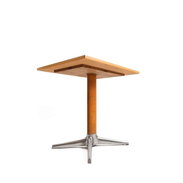 Aluminum Occasional Table by Oswald Haerdtl For Sale - Image 7 of 8