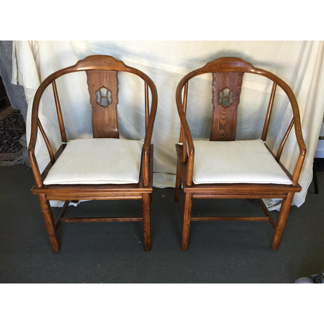 Henredon Chinese Style Chairs - A Pair - Image 7 of 7