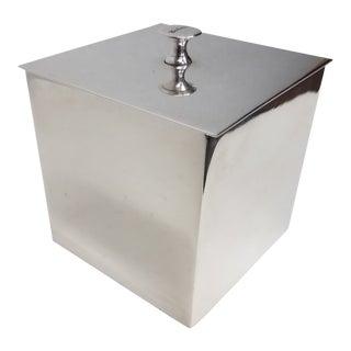 Carluccio Vintage Silverplate Box For Sale