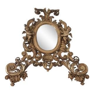 Antique Gilt Rococo Mirror For Sale