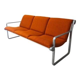 Mid Century Modern Bruce Hannah & Andrew Morrison for Knoll Sling Sofa For Sale