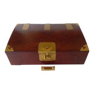 Asian Rosewood Box