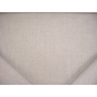 Kravet Couture 34613 Shibumi Linen Ecru Textured Weave Upholstery Fabric - 7-5/8y For Sale