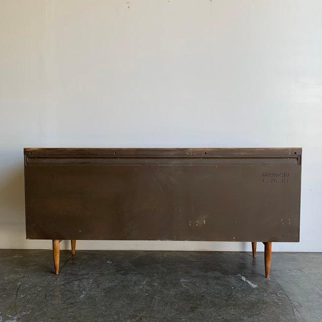 Mid Century Broyhill Sculptra Triple Dresser For Sale - Image 11 of 13