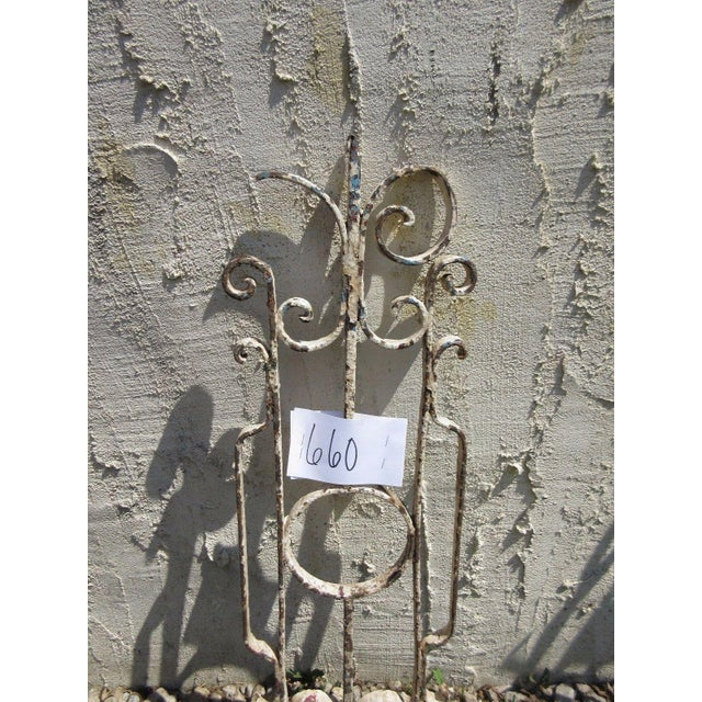 Antique Victorian Iron Architectural Salvage Element For Sale - Image 4 of 5