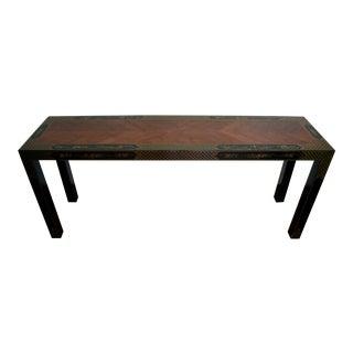 Drexel Heritage Et Cetera Chinoiserie Parsons Console Table