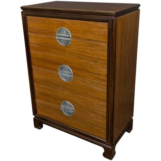 """American Midcentury """"chinese-modern"""" Chest of Drawers - Image 9 of 9"""