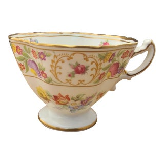 English Fine Bone China Dresden Sprays Hammersley Decorative Tea Cup For Sale