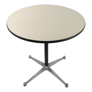 Eames Herman Miller Aluminum Group Cafe Dining Table For Sale