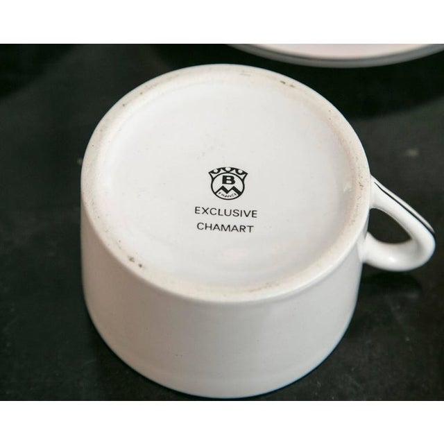 Limoges Antique Car Motif Coffee Set - 30 Pieces - Image 5 of 9