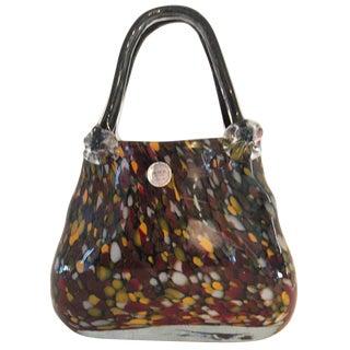 Crystal Handbag by Block For Sale
